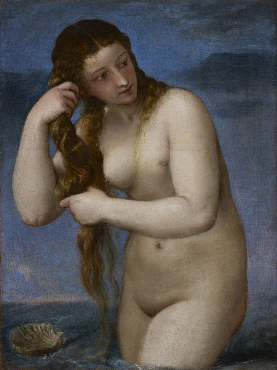 Nude modellering for kunst