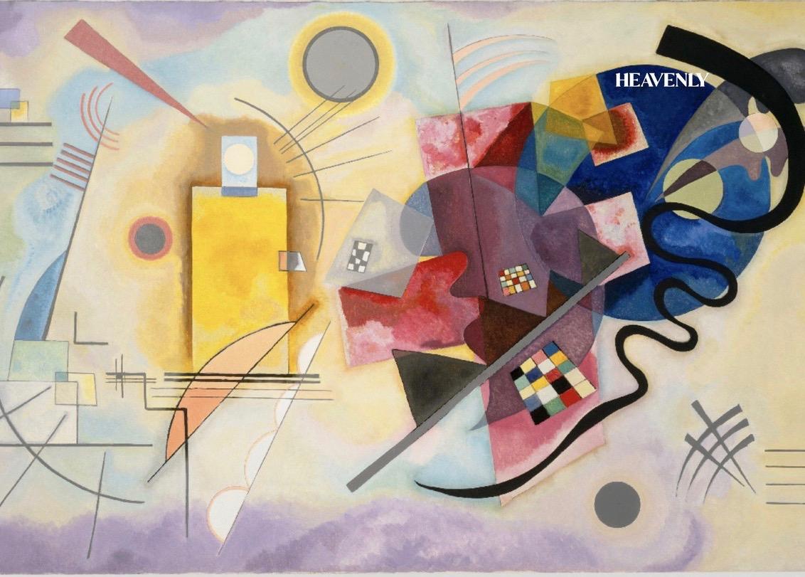 Der er blevet tænkt både kreativt og digitalt på Pompidou - spil en Kandinsky!